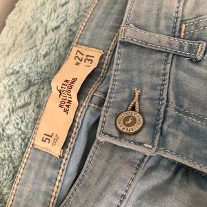 Womens Hollister Jean Leggings